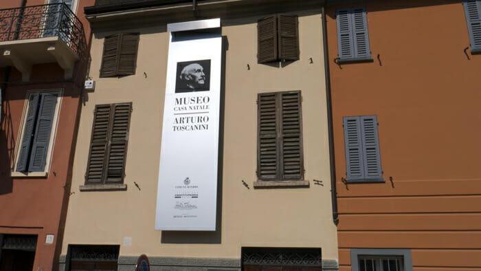Toscanini house