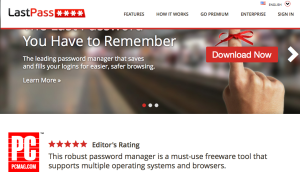 Password Security AND Convenience – as you travel.