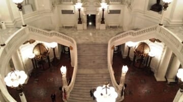 photo, image, pennsylvania state capitol lobby