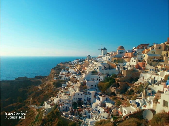 photo, image, houses, santorini