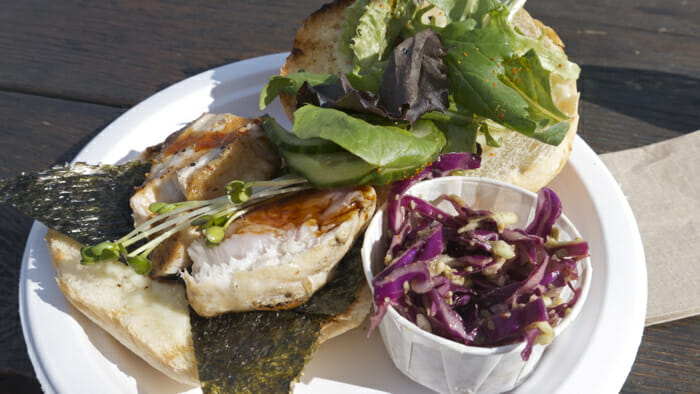 Albacore Tuna Sandwich from Go Fish