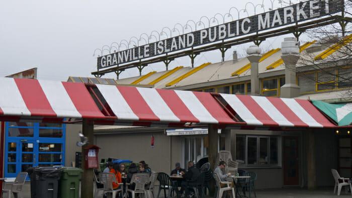 Granville market. A must.