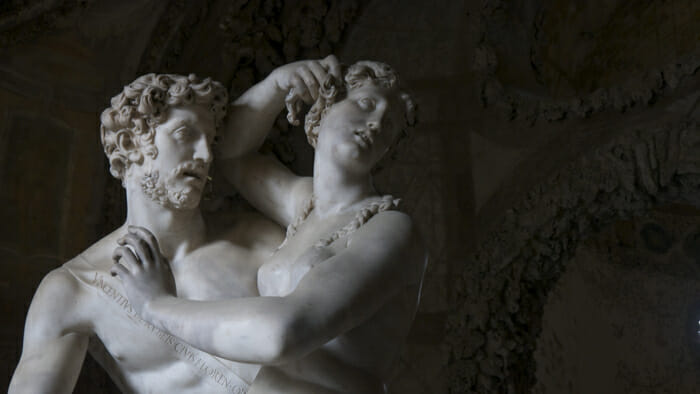 Paride e Elena di Vincenzo de' Rossi