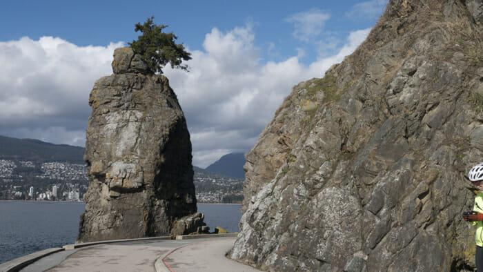 Siwash Rock.
