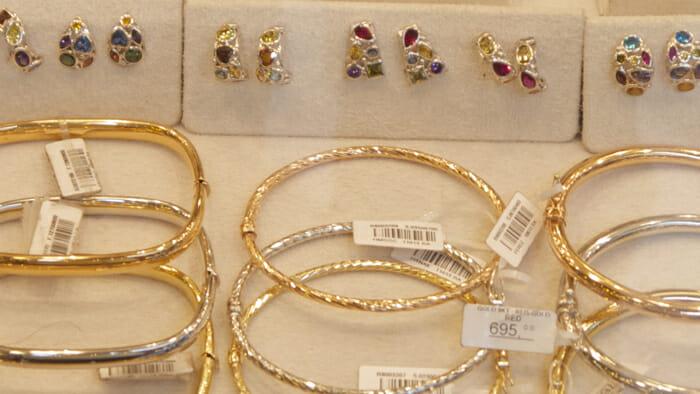 Gold on sales on Ponte Vecchio