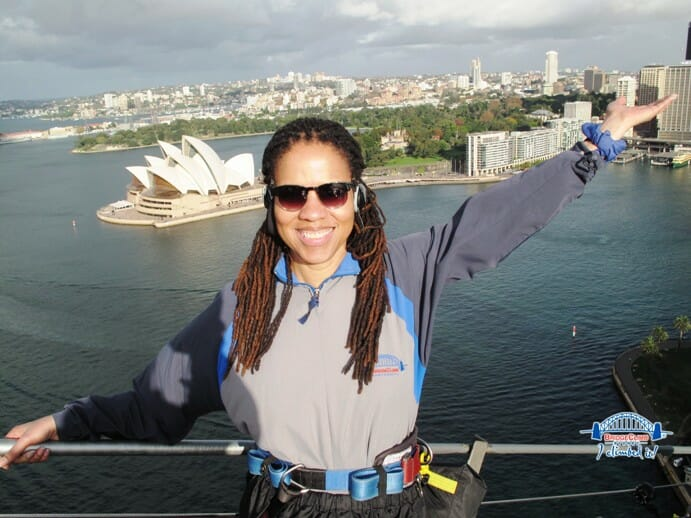 photo, image, sydney bridge climb