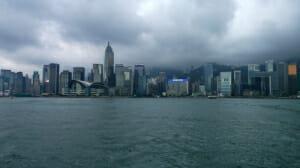 PIc of the Week: Hong Kong skyline at dusk.