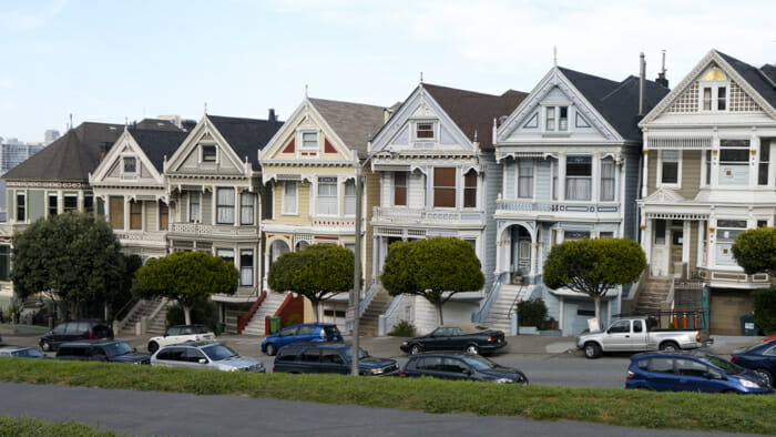 """These are the """"Pained Ladies"""" of San Francisco - one of my dream trip destinations. trip planning"""
