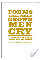 A newly published book of poetry.