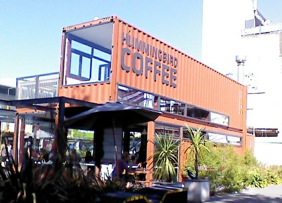 photo, image, shipping container