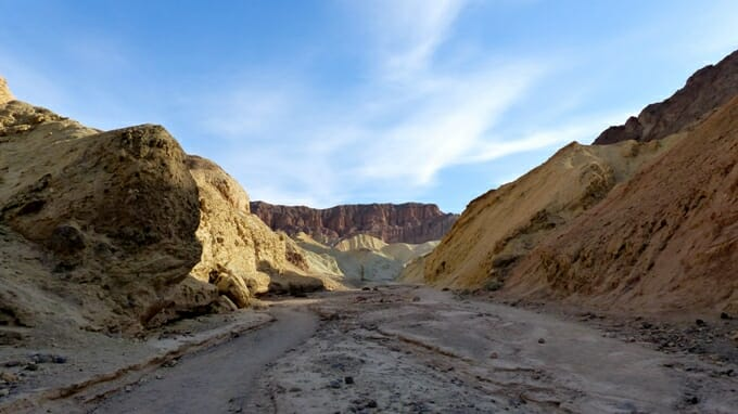 photo, image, golden canyon, death valley