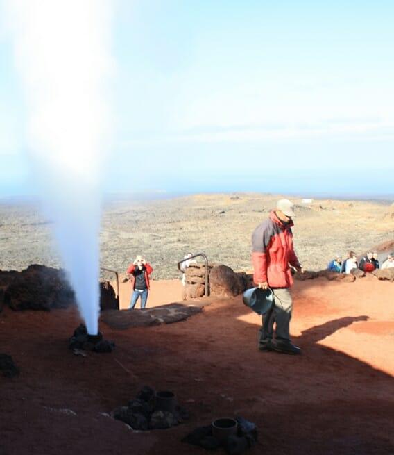 photo, image, lanzarote, volcano