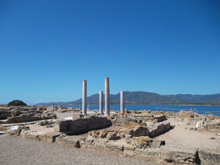 photo, image, ruins, sardinia