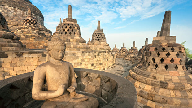 Borobudur is the largest Buddhist temple in the world.