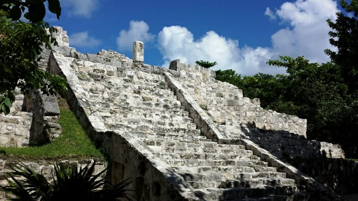 photo, image, pyramid, cancun