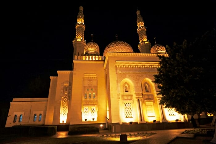 photo, image, jumeiah mosque, dubai
