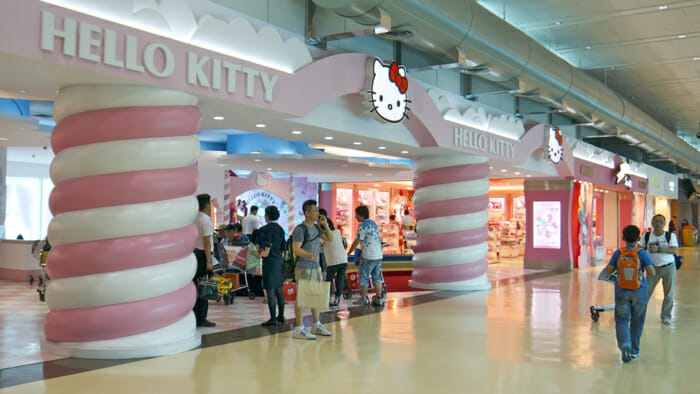 "The ""Hello Kitty"" lounge in the Taipei airport even makes in on a list of things to do and see in Taipei. Personally, I don't get it."
