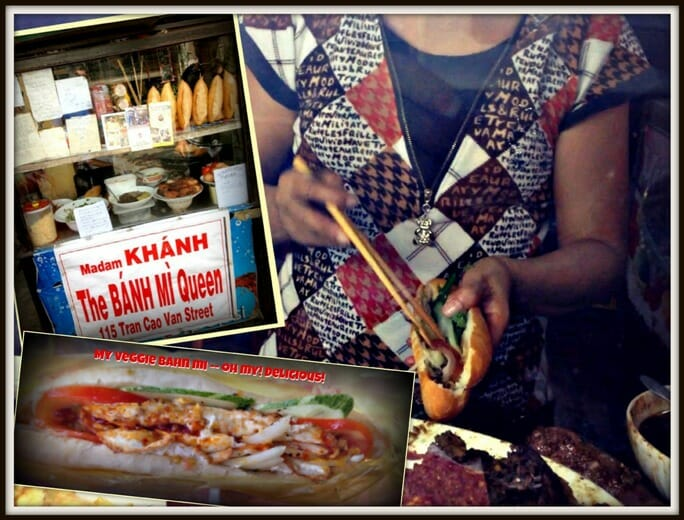 photo, image, banh mi queen, hoi an, collage