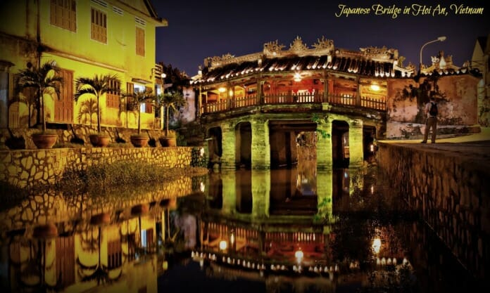photo, image, hoi an, japanese bridge