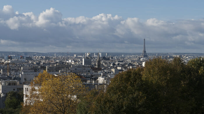 Paris skyline,