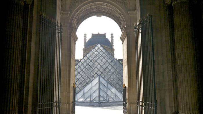 Paris is The Louvre.