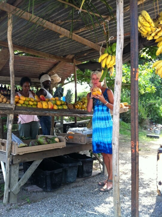 photo, image, fruit stand, negril