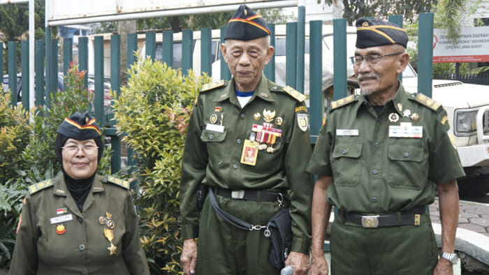 A trip to meet the veterans who had fought for Indonesian independence was an amazing opportunity to see into the history of the country through the people who helped form it.