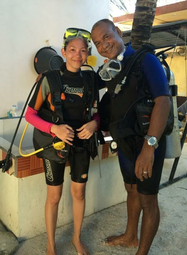 photo, image, diving instructor, maldives