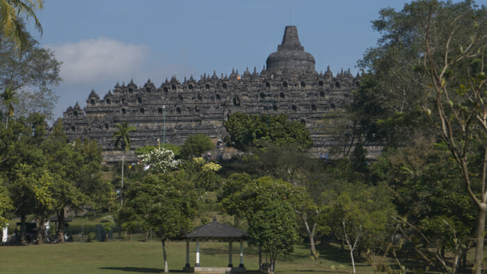 Borobudur, temples of java