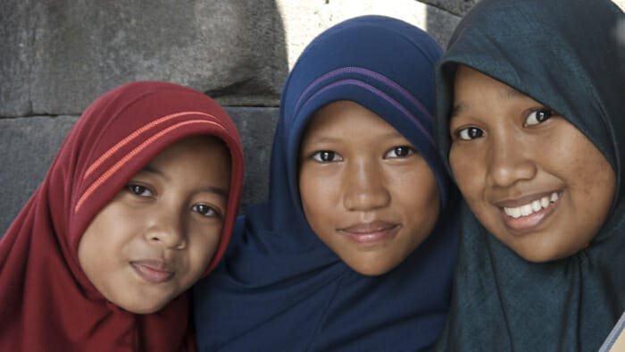 girls, temples of java