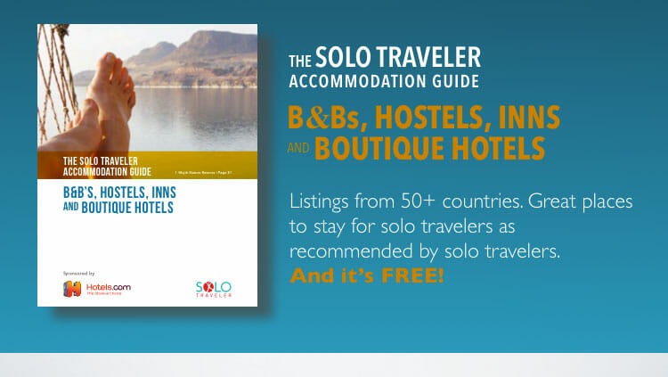 Solo Traveler Accommodation Guide