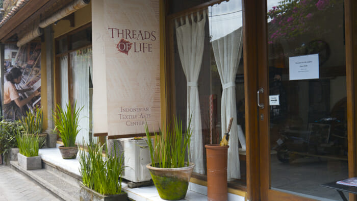 Threads of Life in Ubud.