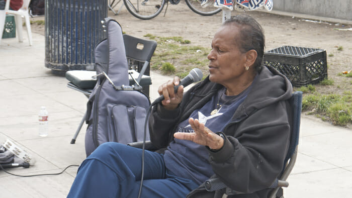 Starla sings jazz at Venice Beach most Mondays to Thursday. Her voice, her phrasing are fabulous.