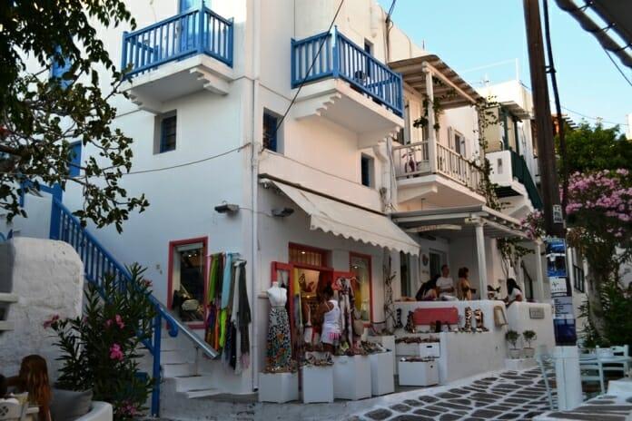 photo, image, mykonos, stores