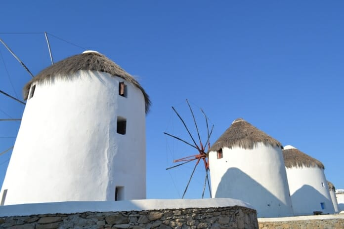 photo, image, windmill, mykonos