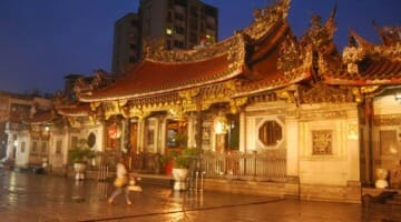 photo, image, lungshan temple, taipei