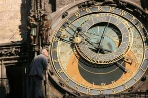 photo, image, astronomical clock, prague
