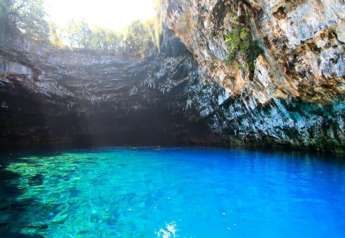 photo, image, Melissani Cave, Kefalonia