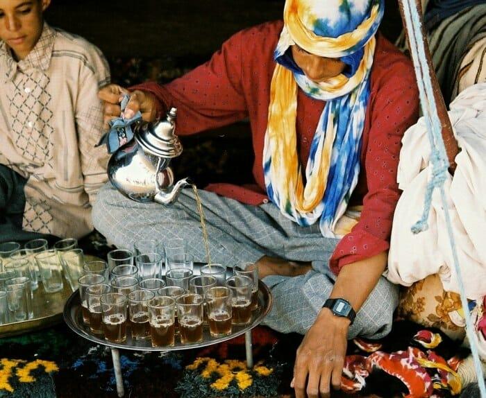photo, image, tea, morocco