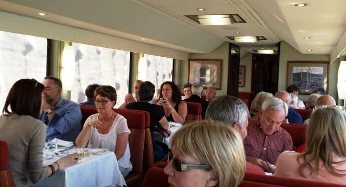photo, image, dining car, rocky mountaineer