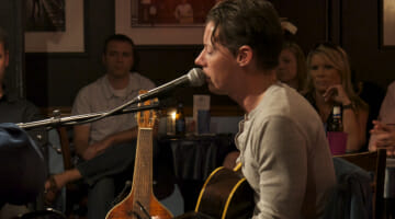 Rick Brantley playing at the Bluebird Cafe.