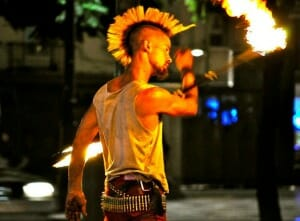 photo, image, fire dancer, lisbon