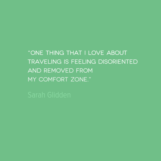 Travel Quote: One Thing I Love