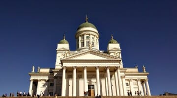photo, image, helsinki cathedral