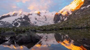 Pic of the Week: Sunrise in Switzerland