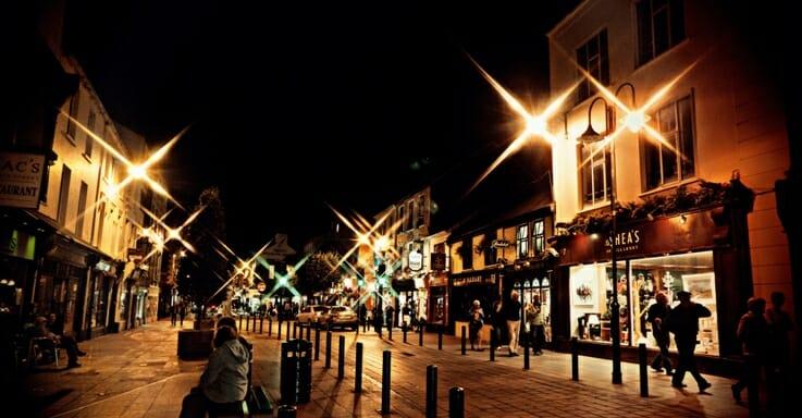 photo, image, Killarney at night