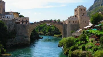 photo, image, stari most, mostar