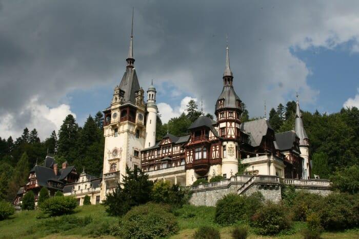 photo, image, peles castle, romania