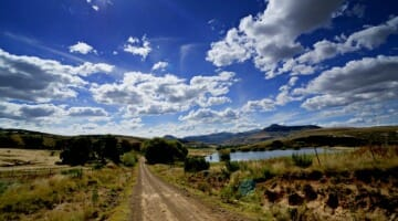 photo, image, gravel road, eastern cape