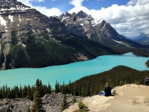photo, image, peyto lake, banff national park, alberta